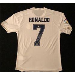 Cristiano Ronaldo Signed Real Madrid Jersey w/ COA
