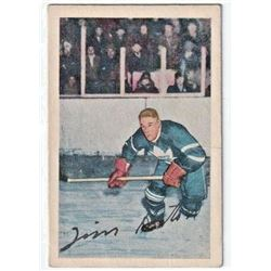 1952-53 Parkhurst #58 Tim Horton RC