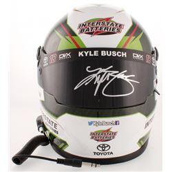 Kyle Busch Signed NASCAR Interstate Batteries Full-Size Helmet (PA COA)