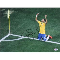 Neymar Signed Brazil 12x16 Photo (PSA Hologram)