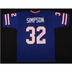 O.J. Simpson Signed Jersey (JSA COA)