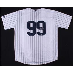 Aaron Judge Signed Yankees Jersey (PSA Hologram)