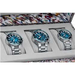 VERY RARE Oris Ocean Trilogy, incl. the New Blue Whale Aquis Chronograph Limited Edition
