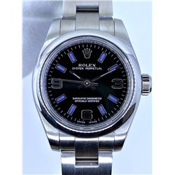 Ladies Rolex Oyster #176200 - 26mm - Black Dial