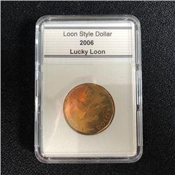 SLABBED CANADIAN 2006 LUCKY LOON DOLLAR