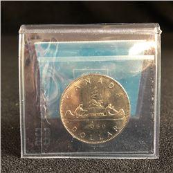 1971 CANADA $1 COIN UNC-64 (NICKEL, BC CENTENNIAL)