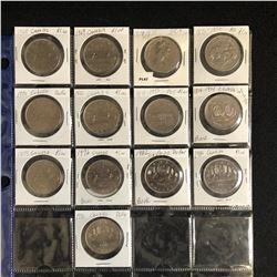 CANADIAN 25c LOT (1920-80s)