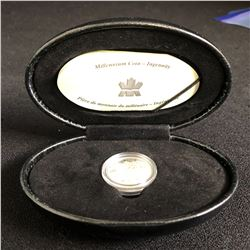 ROYAL CANADIAN MINT MILLENNIUM COIN INGENUITY   .925 STERLING SILVER WITH CASE AND CERT