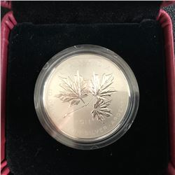 2011 Canada .999 Fine Silver $10.00 Coin - Maple Leaf Forever