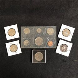 GREAT LOT OF UNC CANADIAN COINS