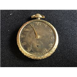 TRACY ADMIRAL OPEN FACE POCKET WATCH