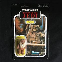 VINTAGE 1983 Star Wars ROTJ Paploo Ewok Action Figure 93680