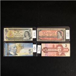 1973-2006 CANADIAN BANK NOTES LOT