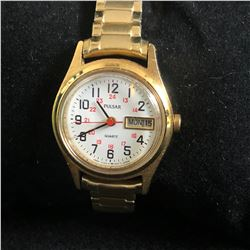 WOMENS PULSAR WATCH WITH DAY/DATE