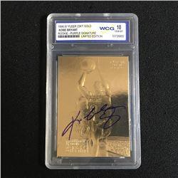1996-97 FLEER 24KT GOLD KOBE BRYANT ROOKIE-PURPLE SIGNATURE LIMITED EDITION (10 GEM MINT)