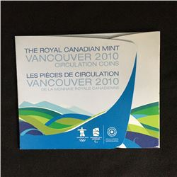 THE ROYAL CANADIAN MINT VANCOUVER 2010 CIRCULATION COINS