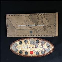 THE ROYAL CANADIAN MINT 1999 MILLENNIUM CANADA COIN SET