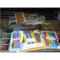 ASSORTED PENS AND MAKER BRAND NEW