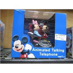 MICKEY ANIMATED TALKING TELEPHONE