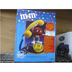 M AND M BRAND CHARACTER TELEPHONE