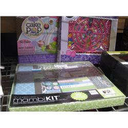 SET OF 3 ASSORTED CRAFT KITS