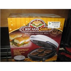 CHICAGO SLIDERS ELECTRIC GRILL