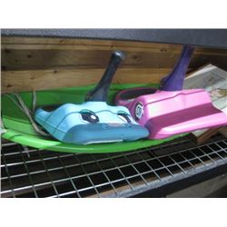 KIDS TOY AND SLED