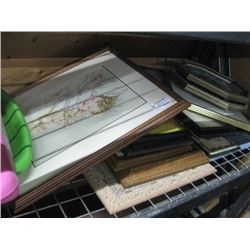 ASSORTED PICTURE FRAMES