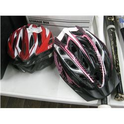 SET OF 2 HELMETS