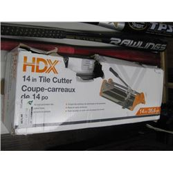 HDX 14 IN TILE CUTTER