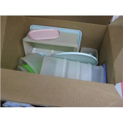 ASSORTED KITCHEN TUPPERWARE