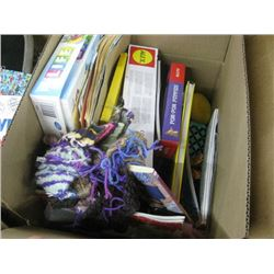ASSORTED KIDS BOOKS AND GAMES