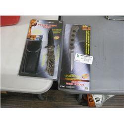 SET OF 2 POCKET KNIFES