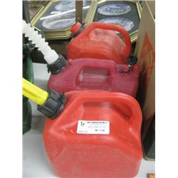 SET OF 3 JERRY CANS
