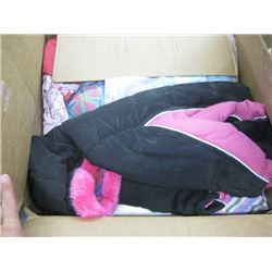 BOX OF KIDS CLOTHES