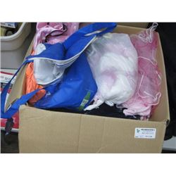 BOX OF GIRLS CLOTHES