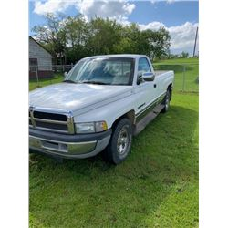 1995 Ram 1500 two wheel,5.2 Litre Gas engine ?51,361 kms good tires, tow hitch, electric brake, good