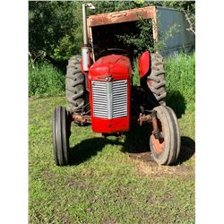 1960 Massey Ferguson 35 tractor gas engine 38 hp, with 3point hitch, PTO, hydraulics, new tires, new