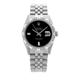 Rolex Pre-owned 36mm Mens Black Dial Stainless Steel - REF-580R3M
