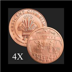5 oz Election .999 Fine Copper Bullion Round