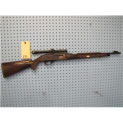 Remington Nylon Model 66 Semi Auto 22 long rifle only scope