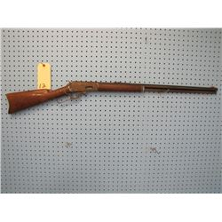 Marlin safety model 1893 lever action 32-40 calibre bolt through stock not original  front sight hex