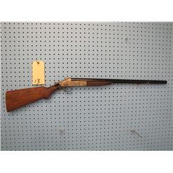Harrington and Richardson 12 gauge single shot exposed hammer stock broke at receiver cut down to 24