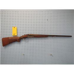 Stevens 16 gauge 2 and 3/4 in double barrel shotgun repair to trigger guard
