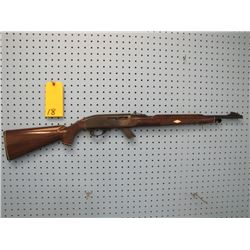 Remington CORRECTION -- Mowhawk 10C -- semi-auto 22 long rifle only clip buttstock is scratched