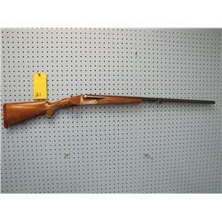 unknown 12 gauge double barrel shotgun