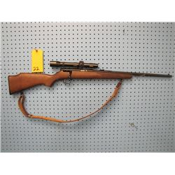 Savage Mark II bolt action 22 long rifle only Weaver scope no clip