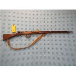 Schmidt Rubin straight pull bolt action 7.5 mm fullwood dust cover