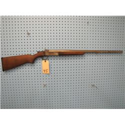 Cooey model 84 break open 12 gauge 30 inch full choke barrel length 27 and a quarter inches
