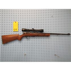 Browning arms T bolt 22 long rifle bolt action clip Nikko Stirling 4 x 32 scope made in Belgium